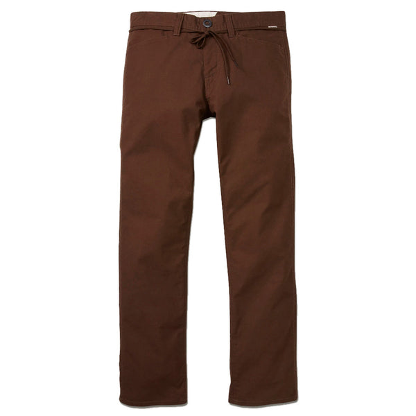 Volcom Gritter Modern Straight Pant Espresso Q.