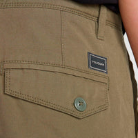 Volcom Miter II Cargo Pant Army Q.