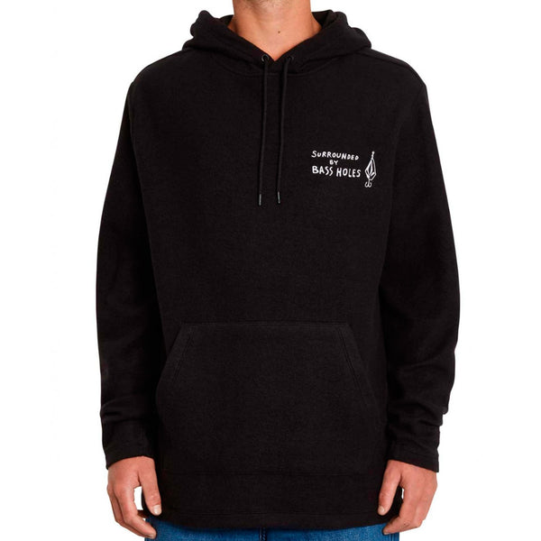 Volcom Loose Trucks Hooded LS Black Q.