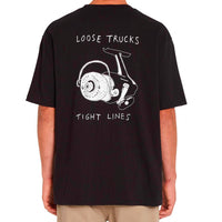 Volcom Loose Trucks LSE Tee Black Q.
