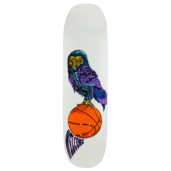 Welcome Skateboards Hooter Shooter on Moontrimmer Bone 8.5