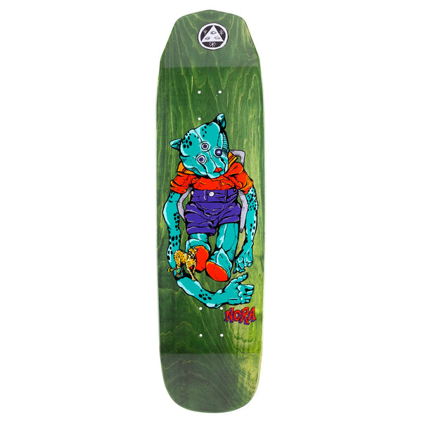 Welcome Skateboards Nora Vasconcellos Teddy on Wicked Queen - Various Stains - 8.6