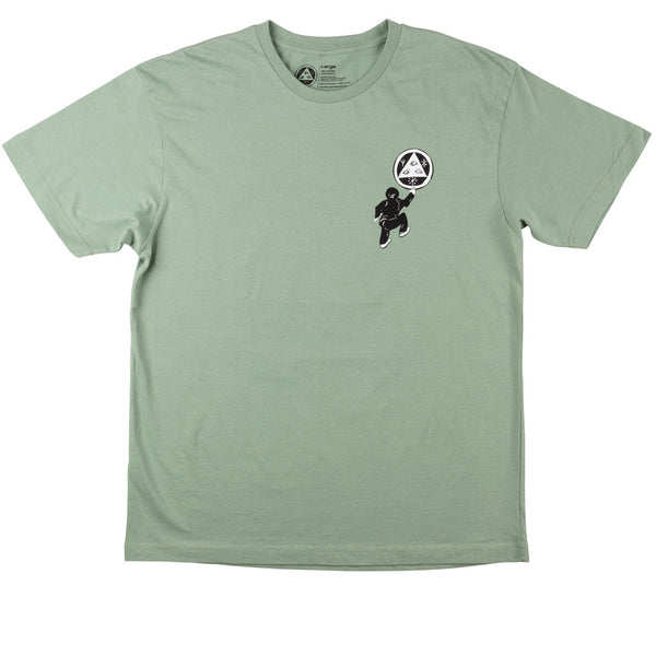 Welcome Skateboards Peep This Premium Tee Sage