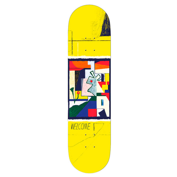 Welcome Board Daniel Clarke Yellow 8.5
