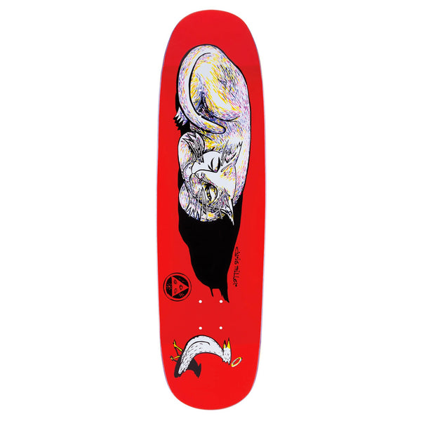Welcome Skateboards Sleeping Cat Miller 8.75 (Red)