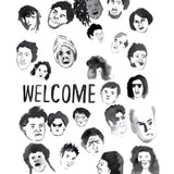 Welcome Board Faces MB 8.0