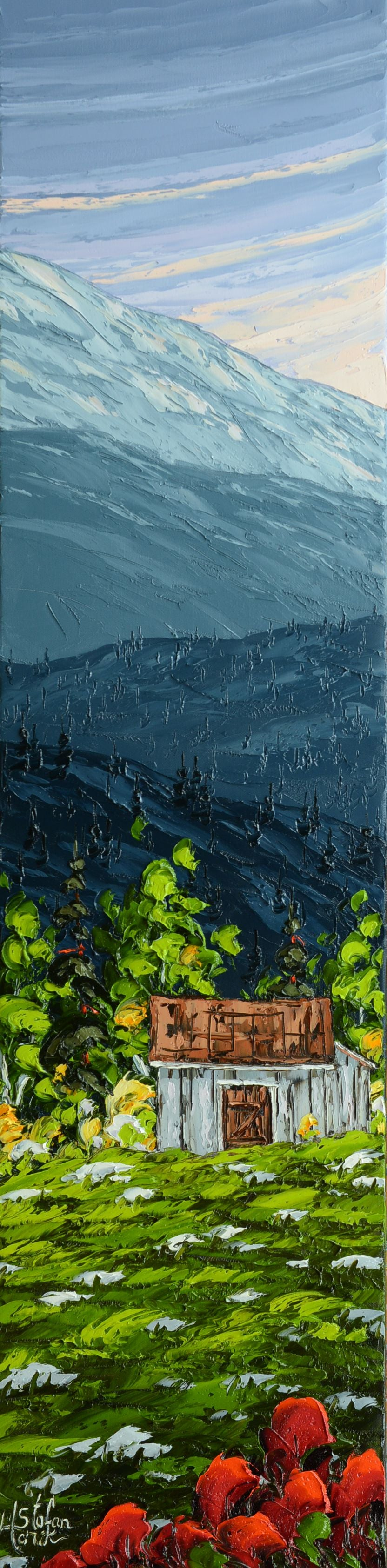 Stefan Horik Original Oil Painting In the Appalachian Mountains