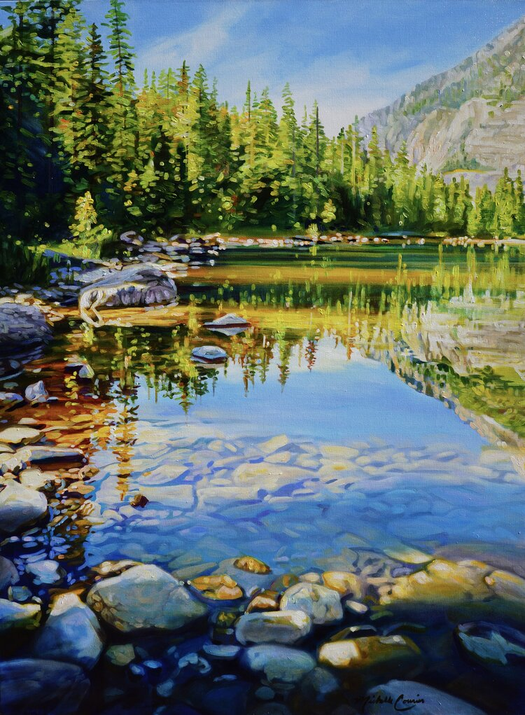 Avalanche Lake 36 x 48