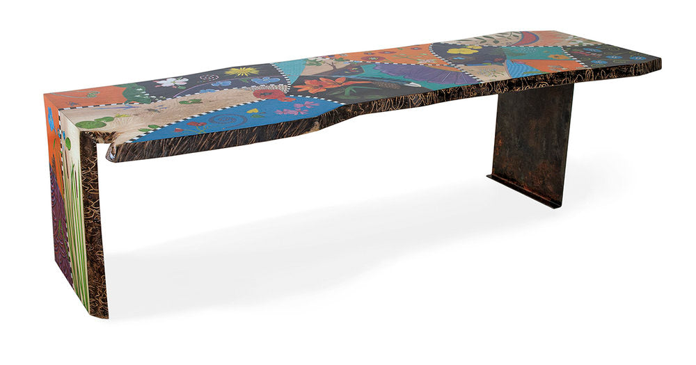 Hand Painted Custom Table Furniture Denna Arnold