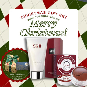 Gift Set! 韓國 Shangpree Ginseng Berry Eye Mask & SK-II Facial Treatment Gentle Cleanser 120g