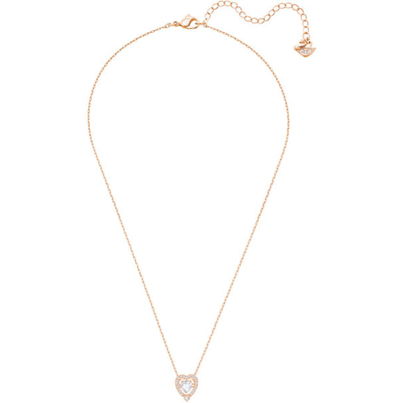 Swarovski Sparkling Dance Heart Necklace 施華洛世奇跳動的心心形項鏈 - toppridehk