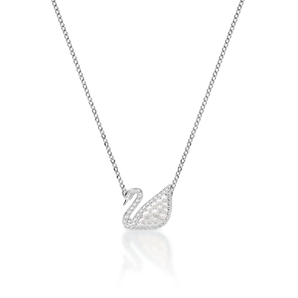Swarovski Iconic Swan Necklace 施華洛世奇天鵝項鍊 - toppridehk
