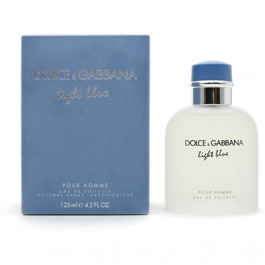 Dolce & Gabbana D&G Light Blue Pour Homme EDT 淺藍男士淡香水 125ml - 品薈toppridehk