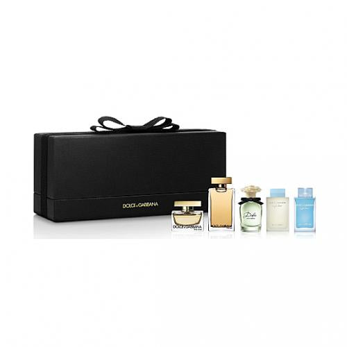 Dolce & Gabbana D&G Perfume Mini Set (5 pcs) 迷你香水5支套裝 - 品薈toppridehk