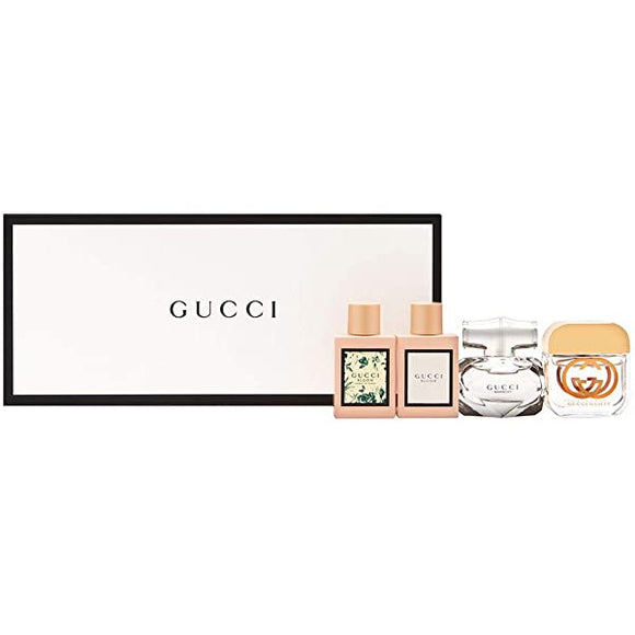 Gucci Perfume Mini Set For Women (4pcs x 5ml) 迷你香水4支套裝 - toppridehk