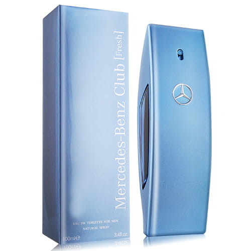 Mercedes Benz Club Fresh EDT 自由藍調男性淡香水 100ml - 品薈toppridehk