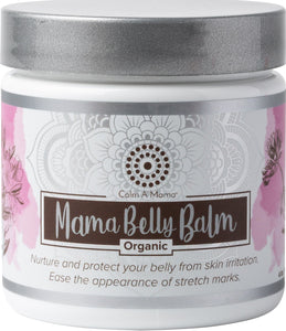 Organic Mama Belly Balm - USDA Organic - Skin Irritation & Stretch Marks and More - Mommy Safe