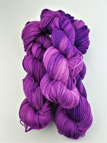 Polly Purple - Wool/Nylon Blend