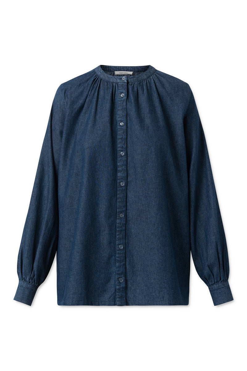 Aline Shirt - Denim Blue