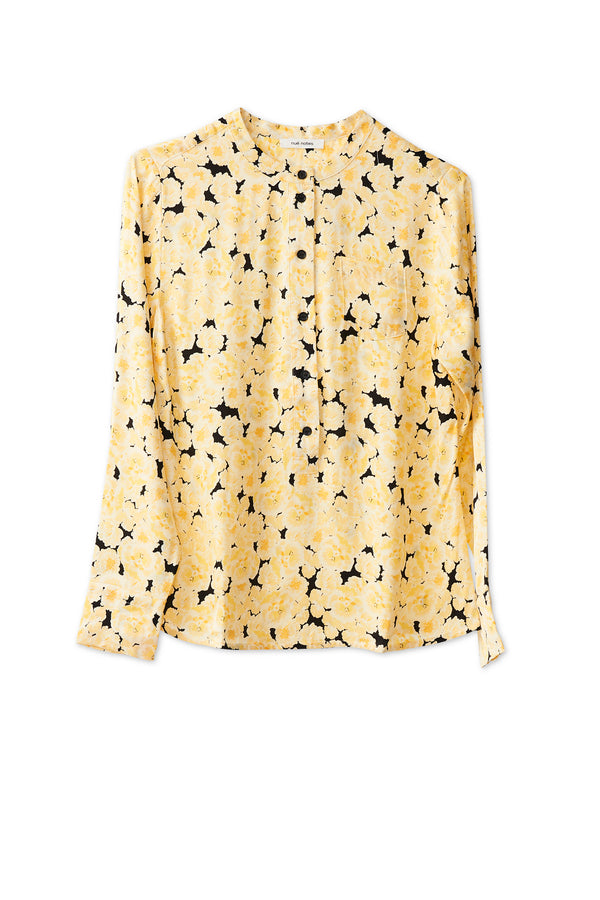 Bianca Shirt - Yellow Cream
