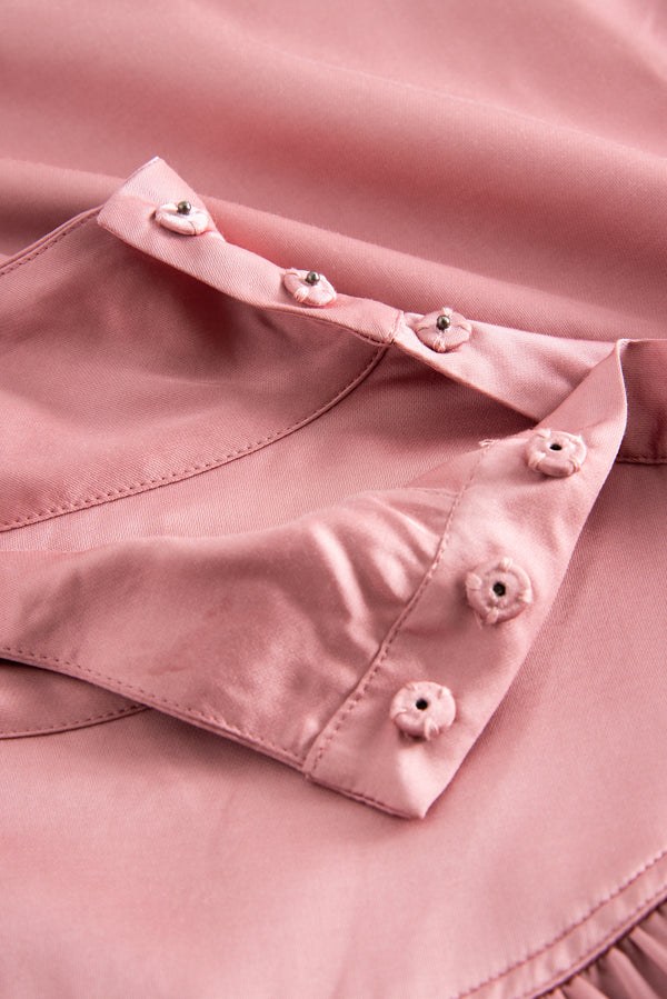 Lucille Blouse Barely Pink