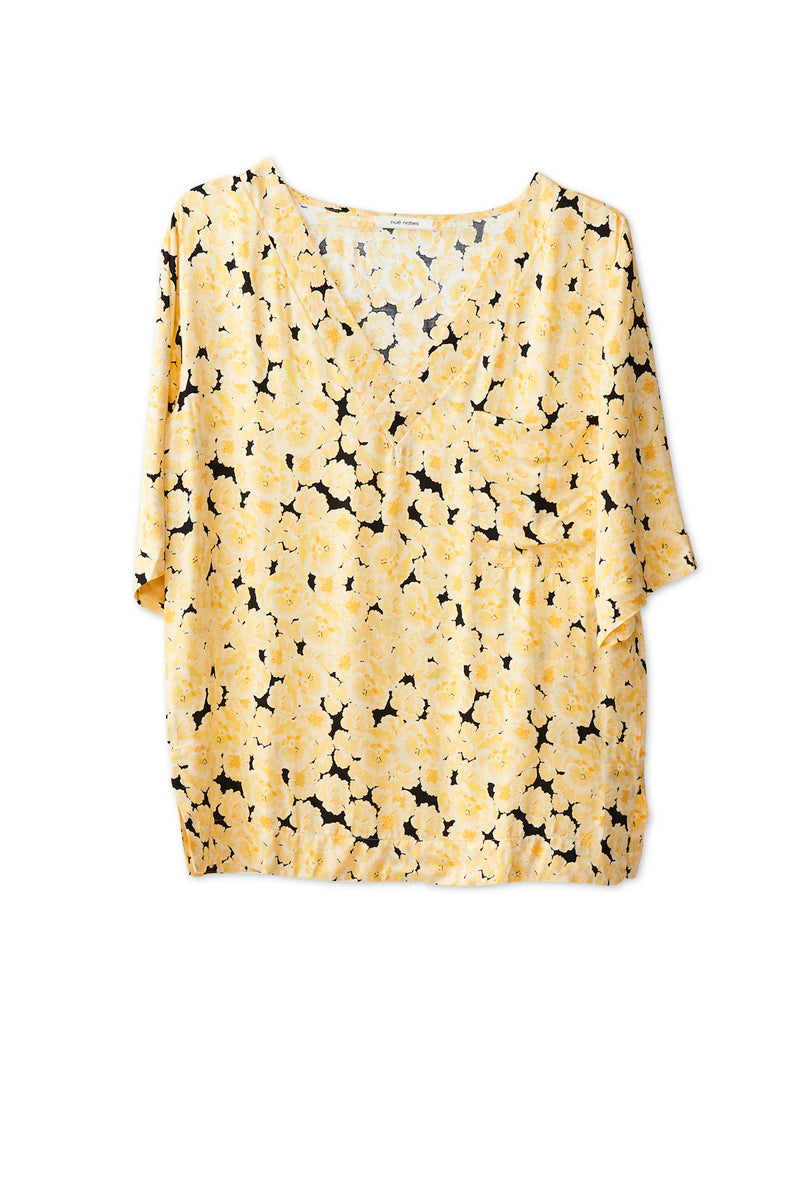Ellen T-Shirt - Yellow Cream