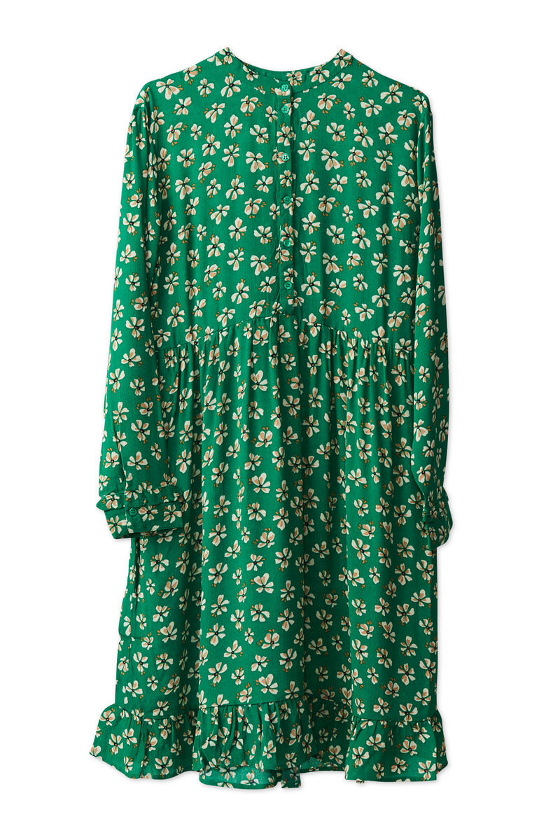 Maia Dress - Leprechaun Green