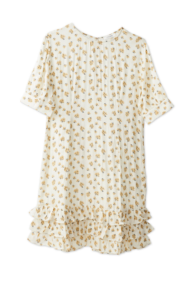 Venolia Dress - Cloud Cream
