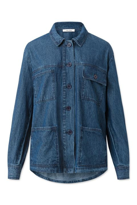 Adeen Shirt - Denim Blue