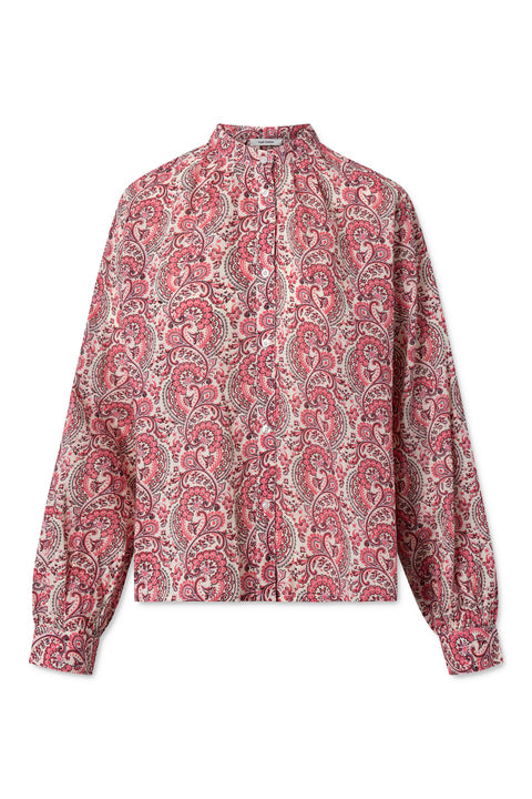 Aline Shirt - Coral Blush