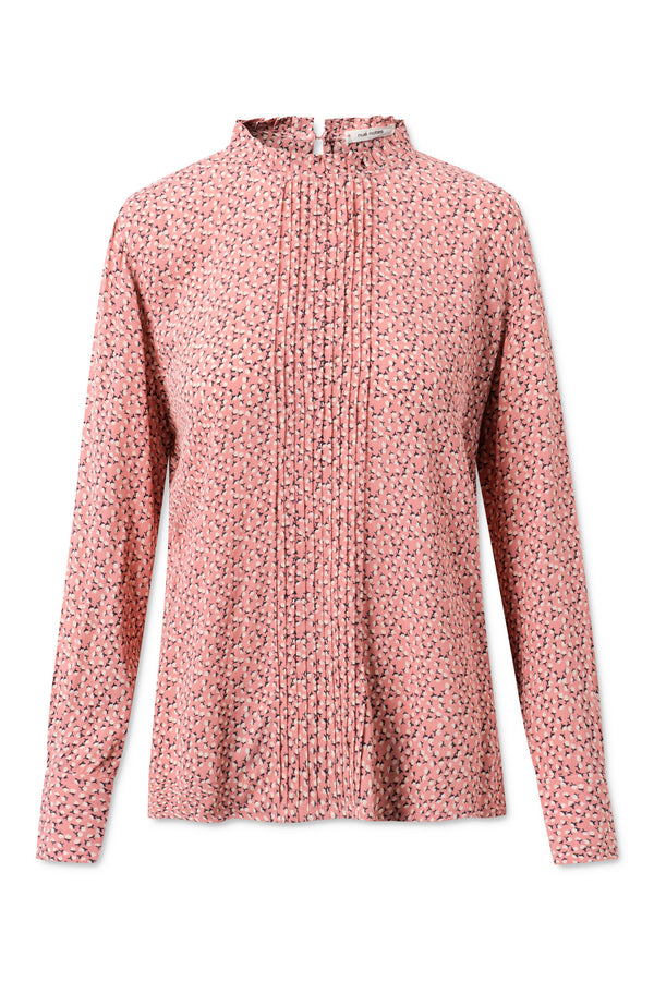 Carla Blouse - Coral Blush
