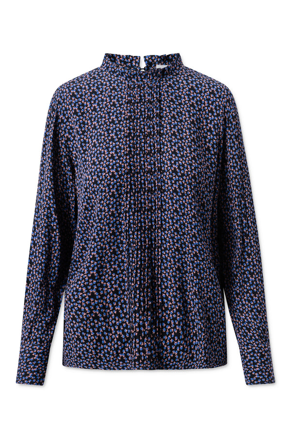 Carla Blouse - Captains Blue