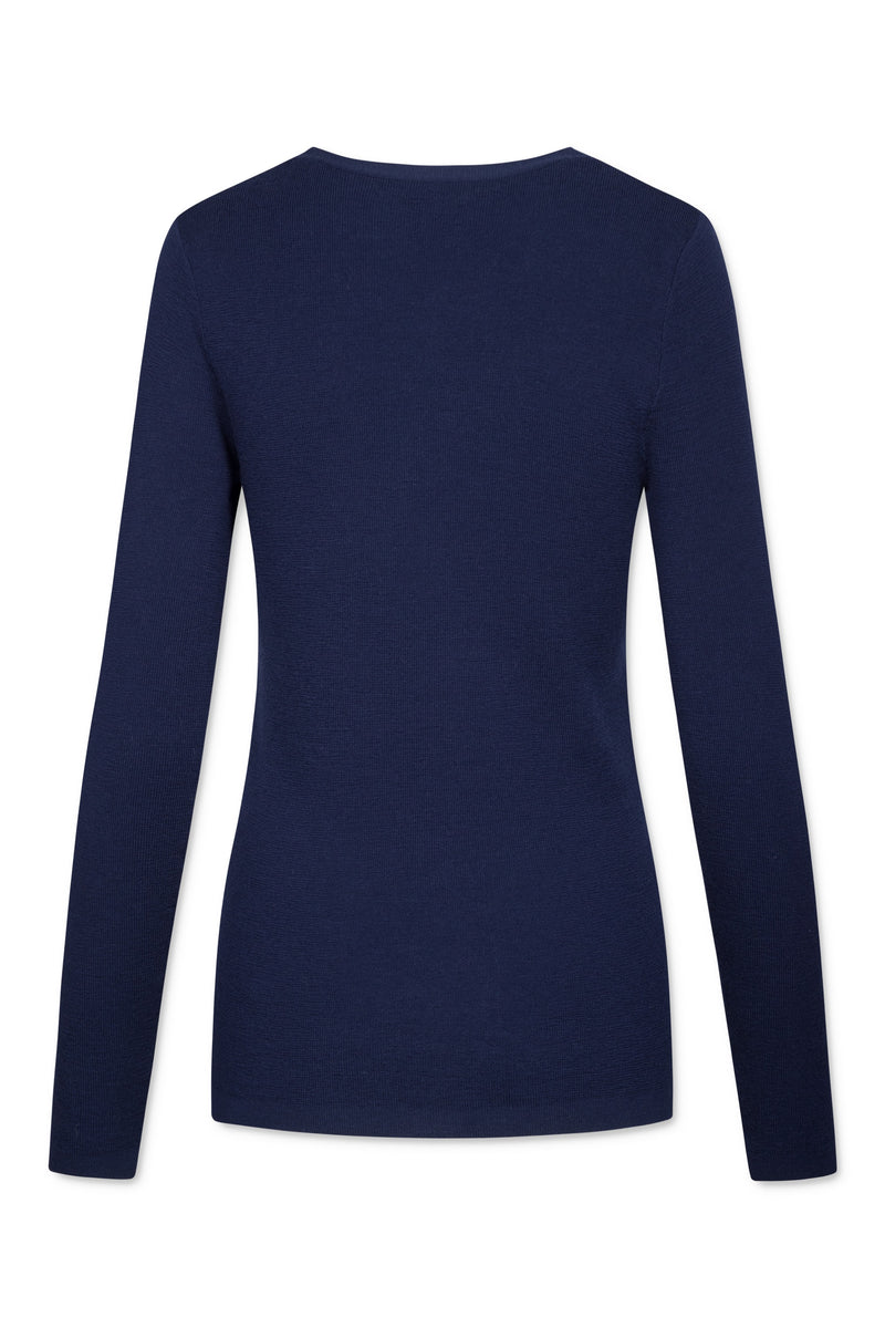 Inge V-Neck - Navy