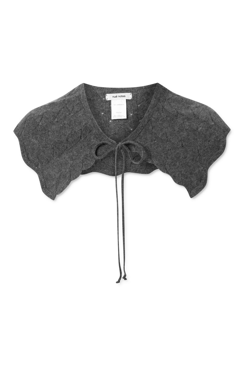 Kelly Collar - Grey Melange