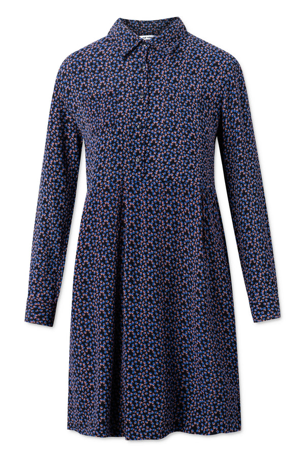 Maia Dress - Captains Blue