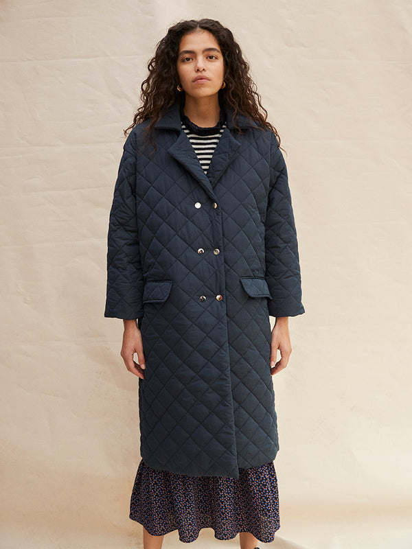 Robyn Coat - Navy