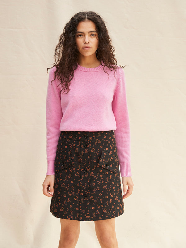 Paola Pullover - Pink Lady