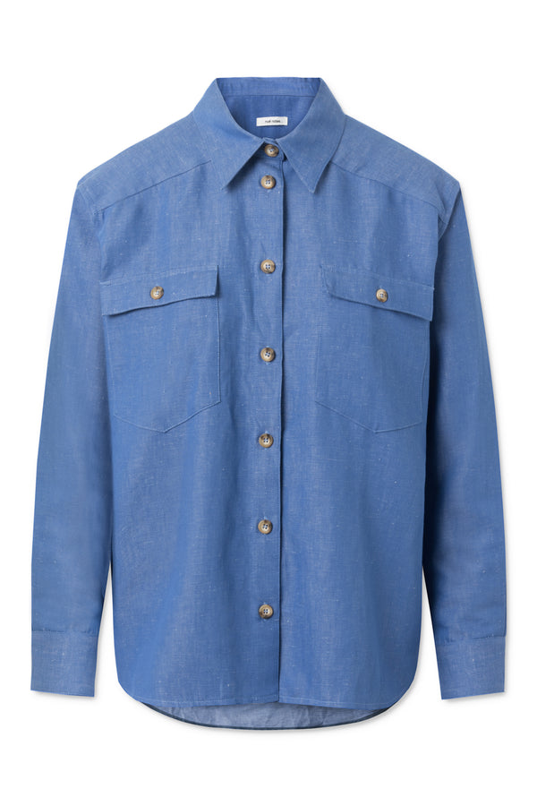 Phil Shirt - Bijoo Blue