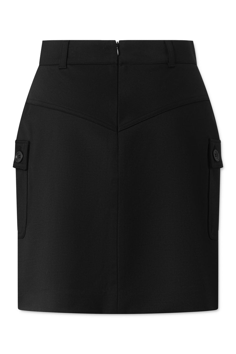 Porsha Skirt - Black