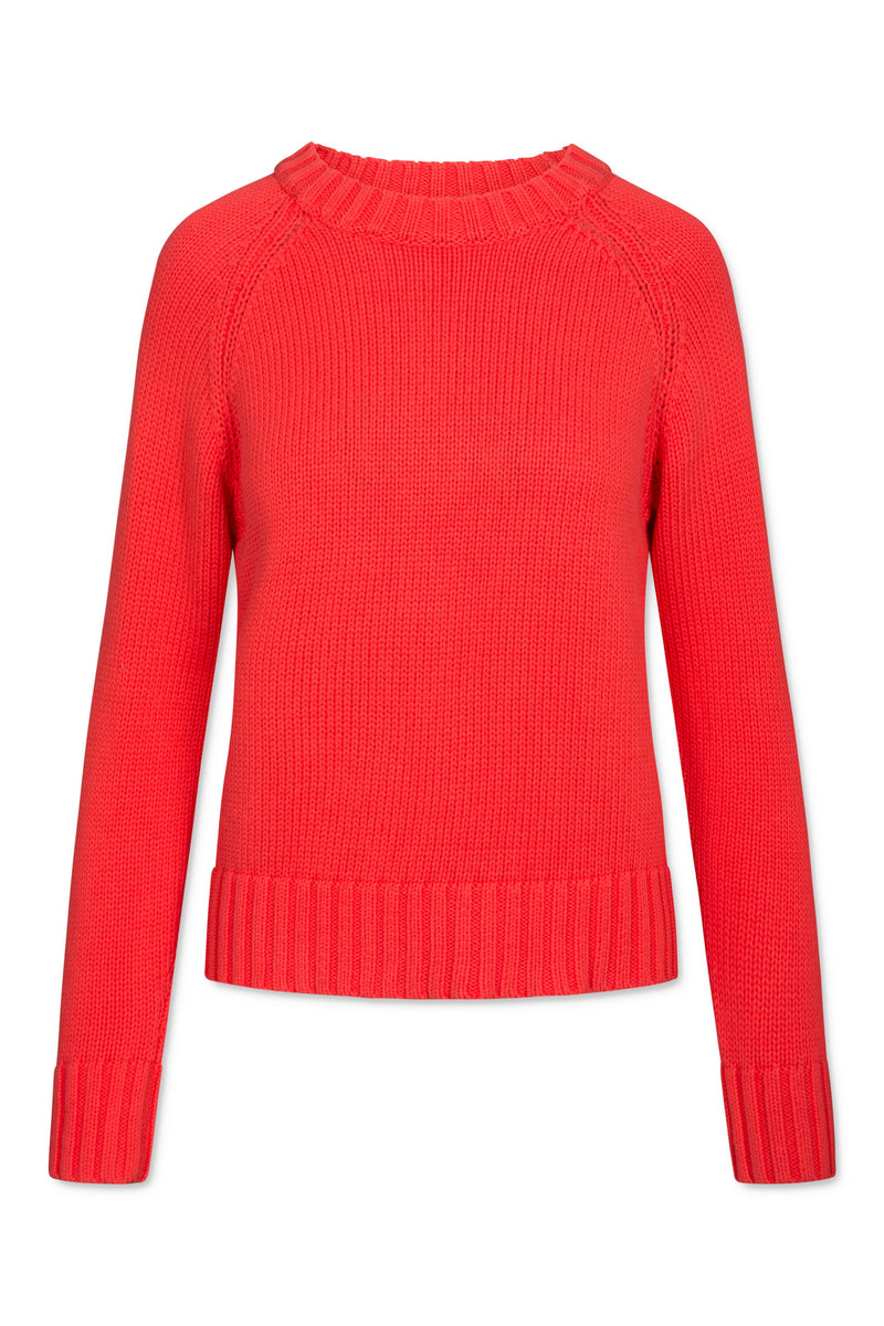 Rue Pullover - Poppy Red