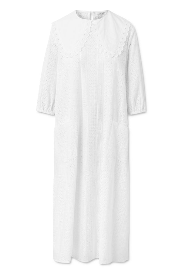 Valeria Dress - White Creme
