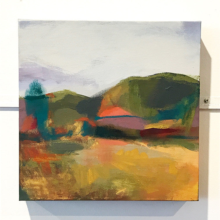 'GOLDEN LANDSCAPE I' - SOLD