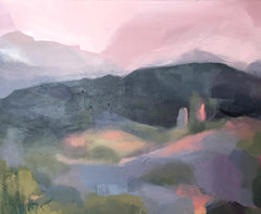 'NELSON HILLS IN PINK' - SOLD