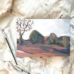 'FAUVES III' - SMALL LANDSCAPE - SOLD