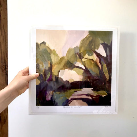GICLEE PRINT: Queens Gardens I