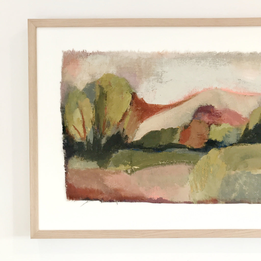 'GO LIGHTLY' landscape - SOLD