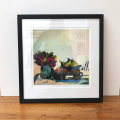 GICLEE PRINT: Still Life With Magenta Protea
