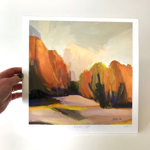 GICLEE PRINT: Elusive Light