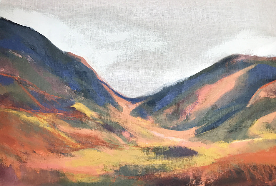 'LIGHT ON LINDIS PASS' - SOLD