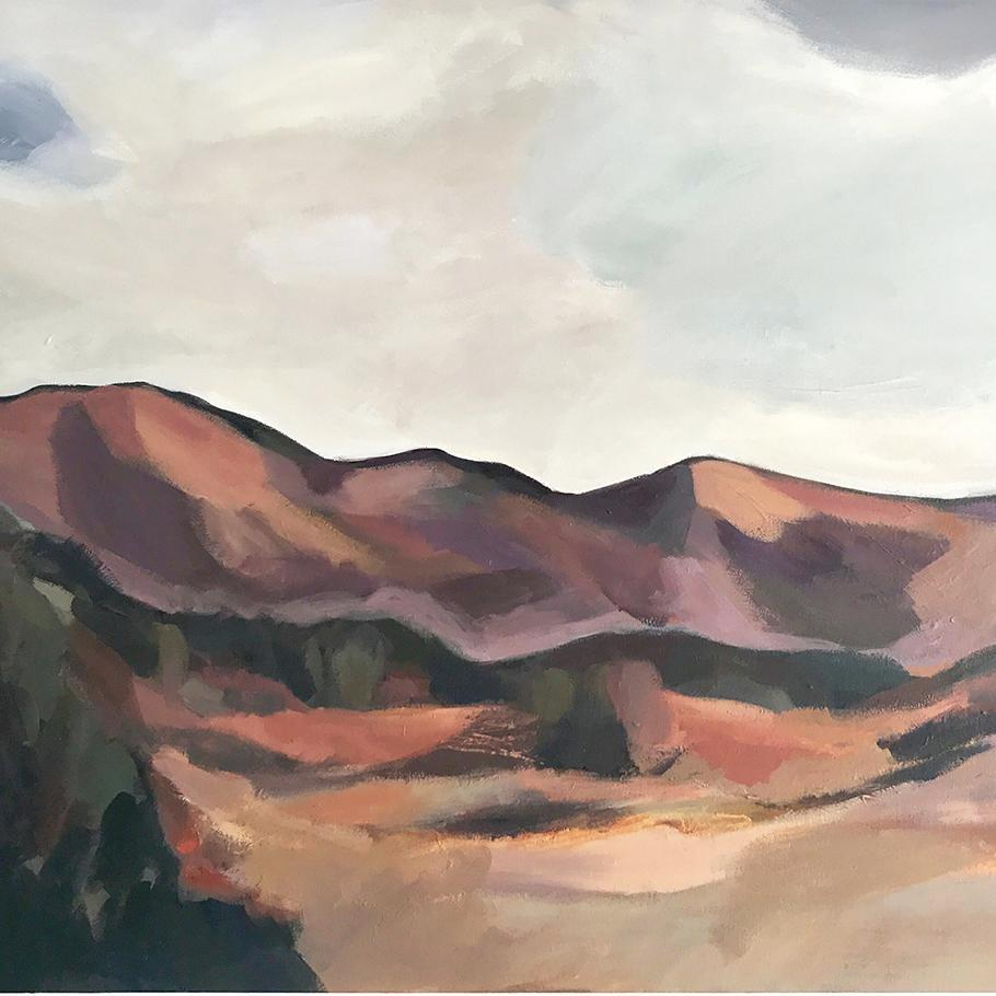 'Nelson Ranges' Original Landscape - SOLD